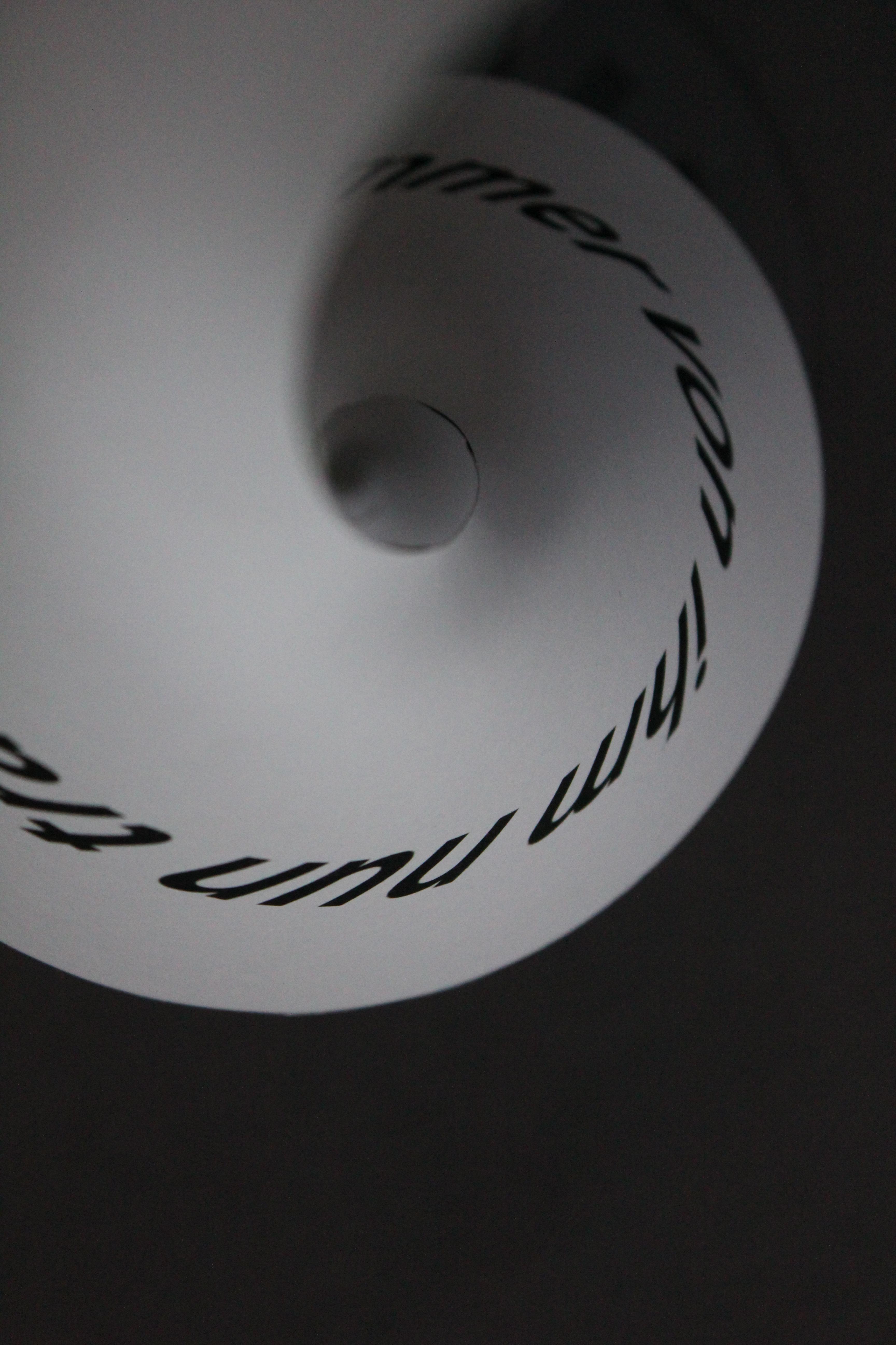 Papier Installationen, Event-Design, Deckenabhängung, individuell bedruckt