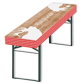 patide-Papiertischdeck, Design: Platzhirsch, wasserfest und wieder verwendbar