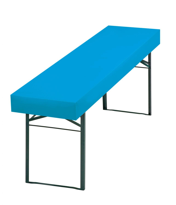 Papiertischdecke bayrisch blau, für Biertisch, wasserfest, passgenau, patentiert, Event-Design, Raum-Konzepte, Veranstaltungen, Feier, Party, Garten