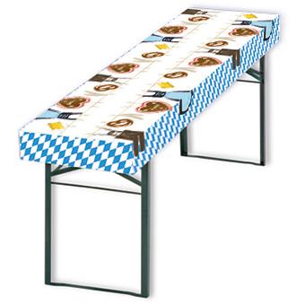 patide-Papiertischdecke, Biertischhusse, Oktoberfest, Bayrisch, wasserfest