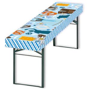 Husse, Stehtisch, Biertisch, Messetischdecke, Logotischdecke, Tischdecke individuell bedruckt
