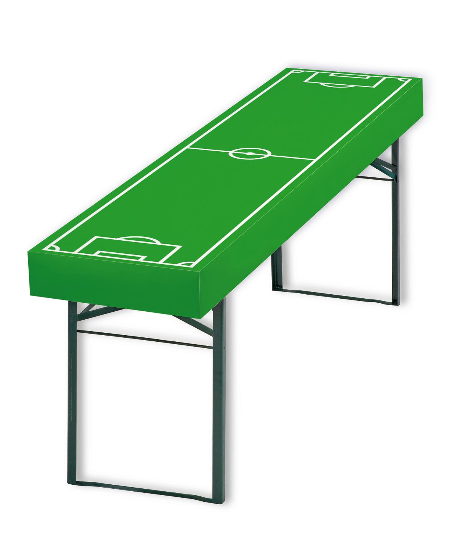 Tischdecke, Fußball, Fußballfeld, Papier, Husse, Event, Tischdekoration, Raumkonzept, Gartenparty, Fantischdecke, Feier