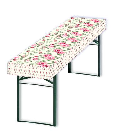 Papiertischdecke-patide, Rosen, Hochzeit, Geburtstag, Muttertag, Feier, Gartenparty, wasserfest, reißfest, formstabil