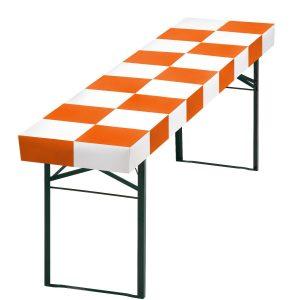 Papiertischdecke-patide für Biertisch, wasserfest, passgenau, patentiert, Event-Design, Raum-Konzepte, Veranstaltungen, Feier, Party, Garten