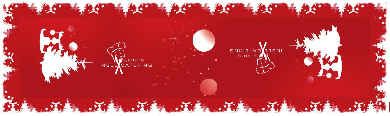 Logotischdecke, Weihnachtstischdecke, individuell, bedruckt, wasserfest, wieder verwendbar, Feier, Weihnachten, Party, christmas, Event
