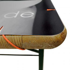 Tischdecke mit Gummizugschnüren