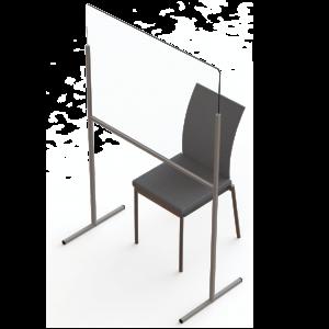 Plexiglas-Trennschutzwand