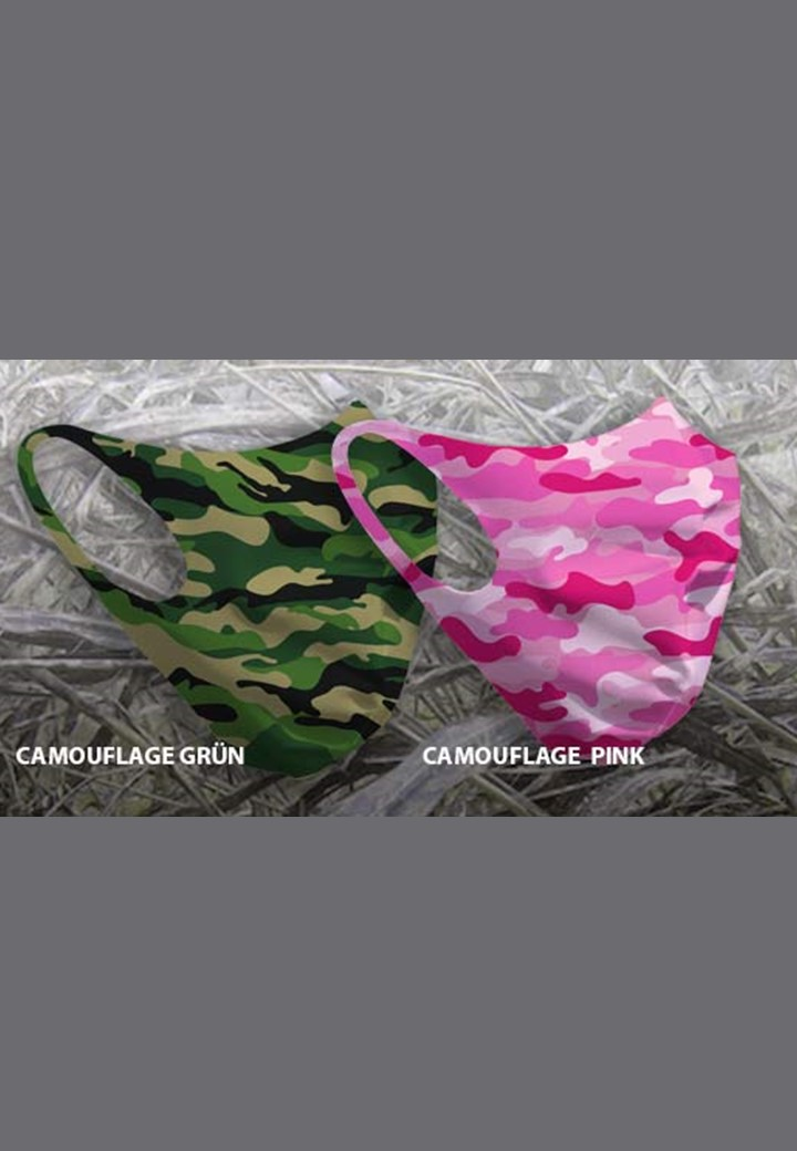Mund-Nasen-Maske Design Camouflage